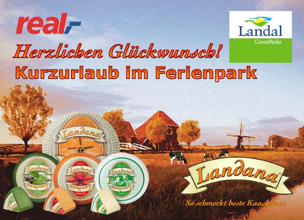 Landana Landal Gutschein