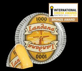 Landana 1000 TAGE Käse in den Top 3 der besten hollländischen Käse