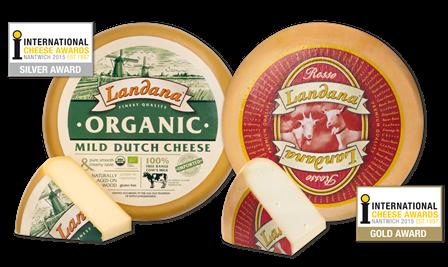Hohe Auszeichnungen für Landana Käse